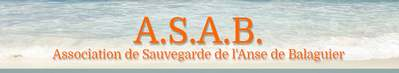 Association de sauvegarde de l'anse de Balaguier
